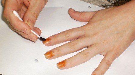 Спиртовый раствор йода для ногтей