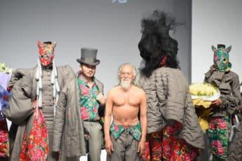 Сенсационное выступление на неделе моды в Китае