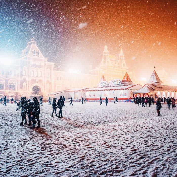 Прогулка по Красной площади