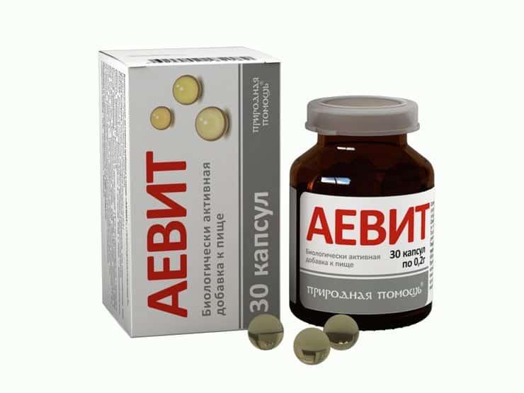 Витаминный комплекс «Аевит»
