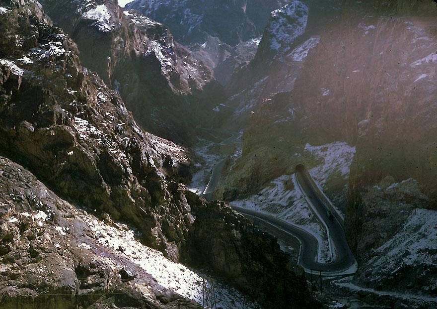 Горный перевал в Афганистане