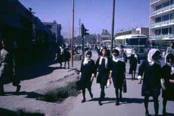 Студенты на улицах