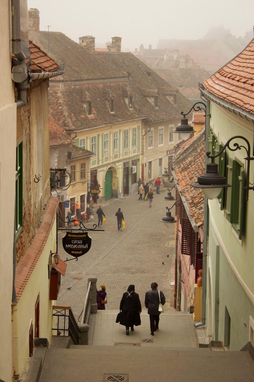 Улицы Люксембурга в Румынии