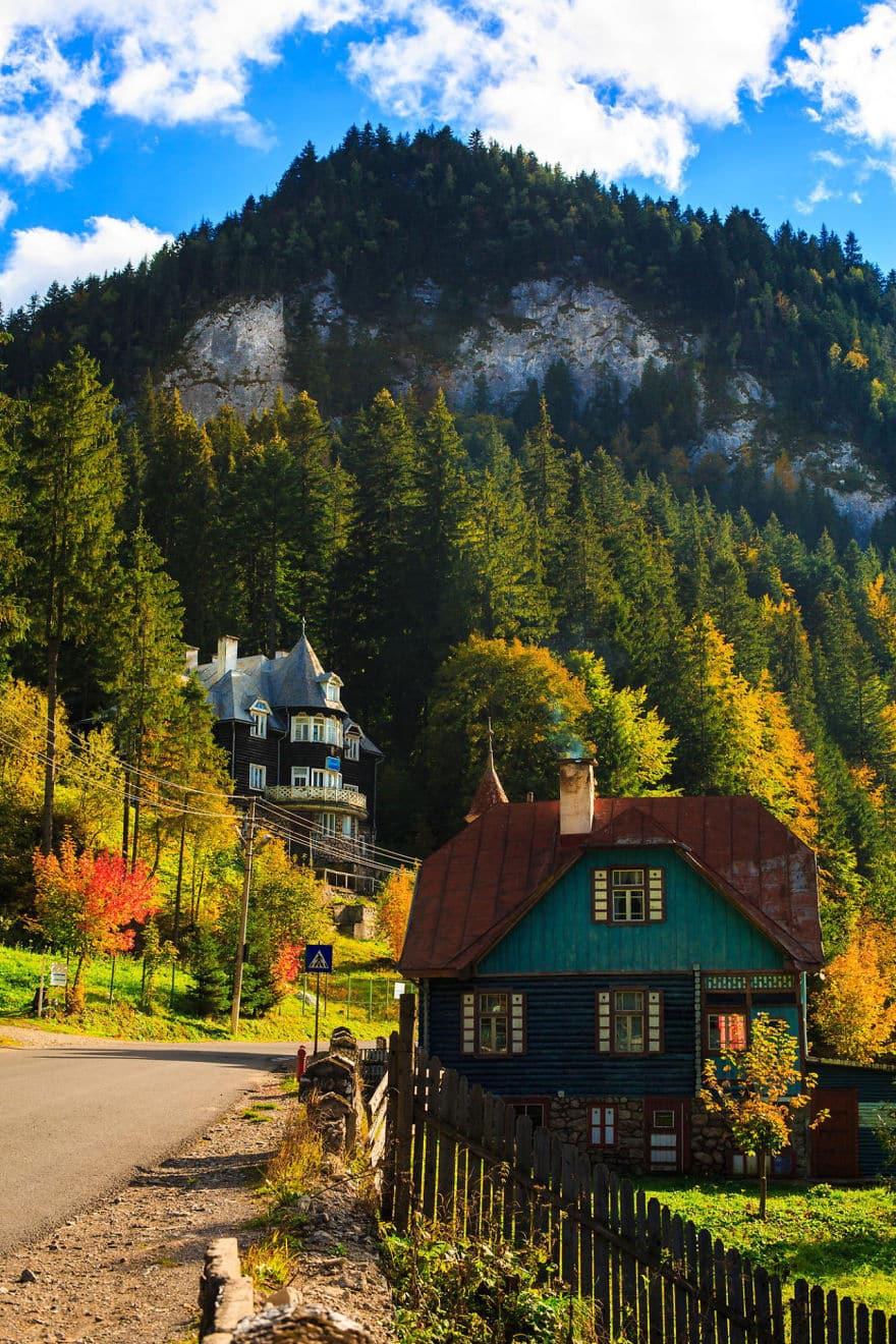 Деревня Швейцарии в Румынии