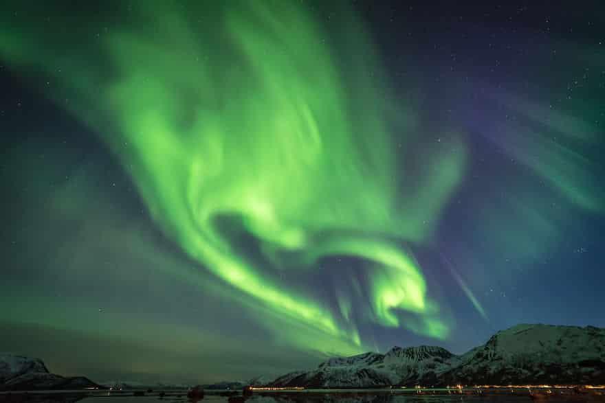 Фотография ночного неба