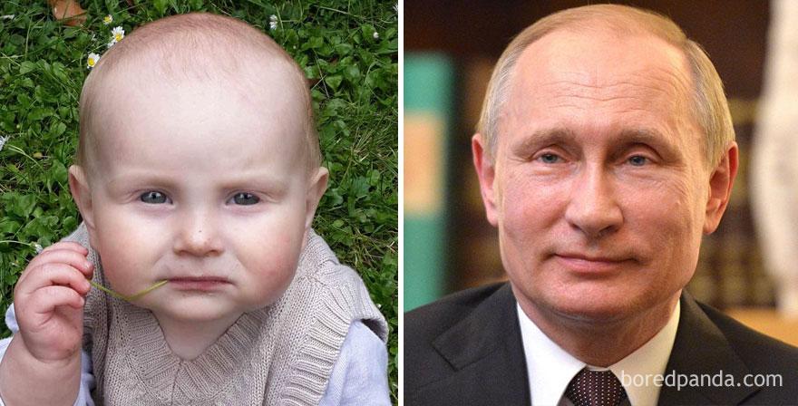 Маленький Путин