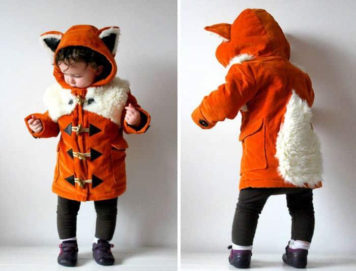 Пальто от лисички