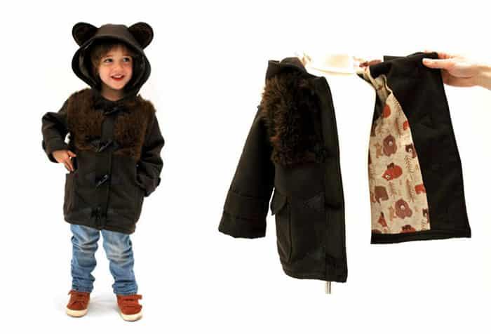 Пальто для мальчика Медвежонок Барри
