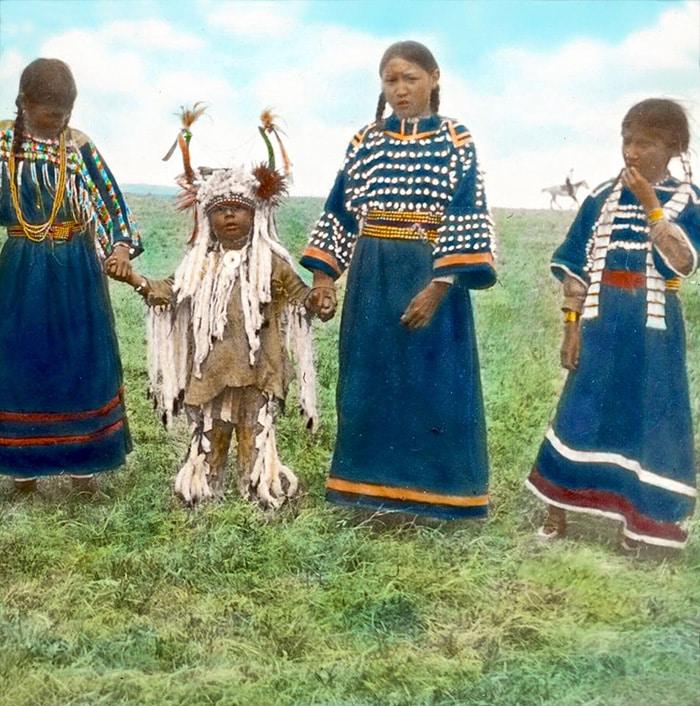 Дети индейского премени