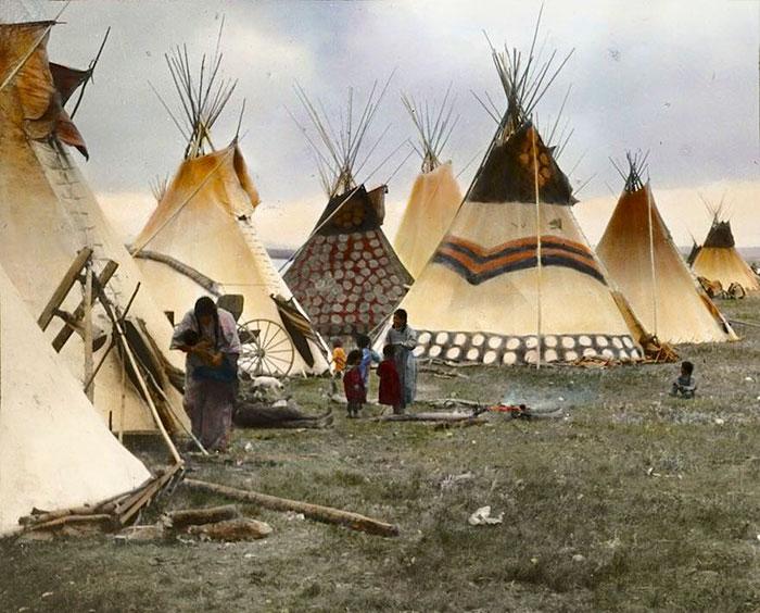 Индейские вигвамы