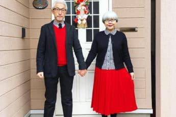 Стильная пара одевается одинаково