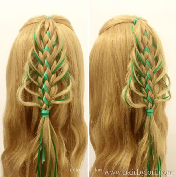 Как заплести волосы