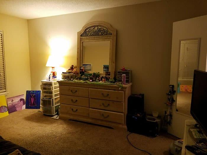 Так выглядит комната, где живет нормальный хозяин