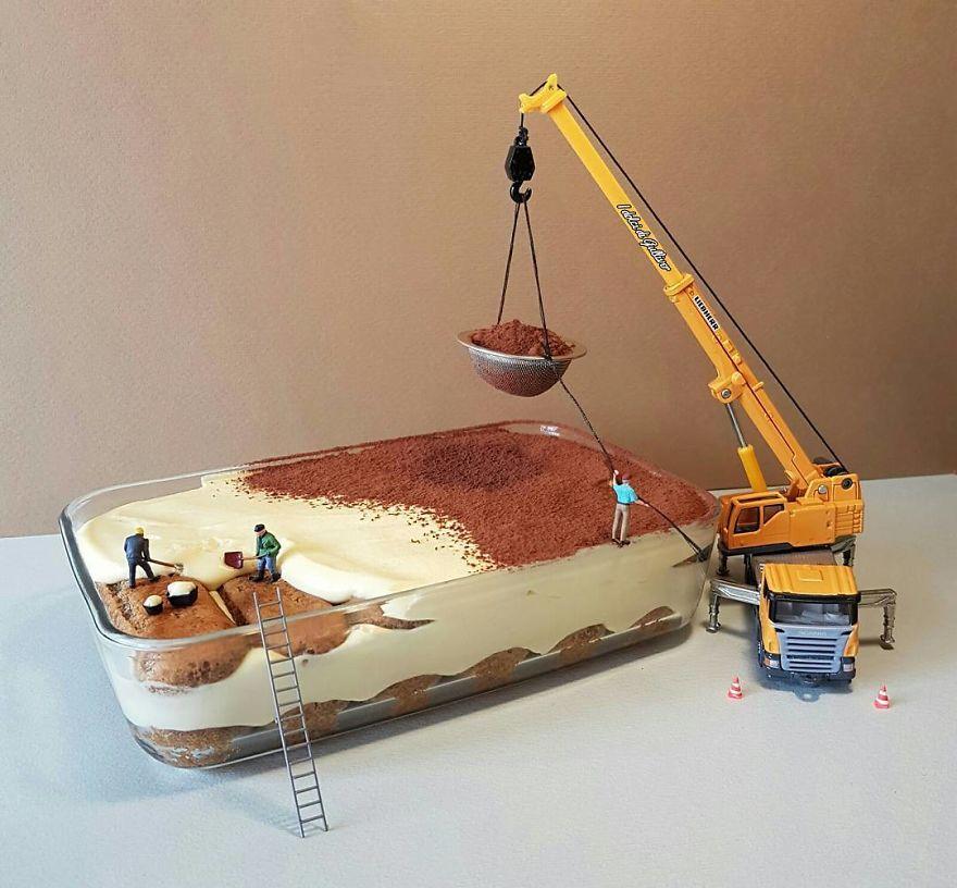 Торт для строителей
