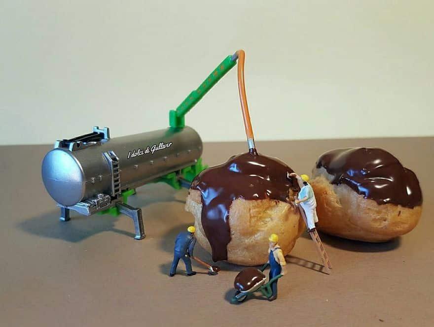 Эклеры в шоколаде