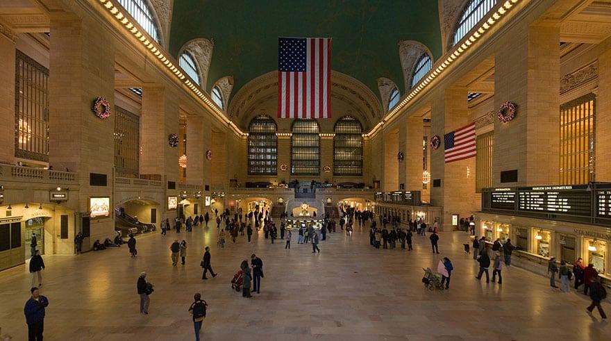 Настоящий нью-йоркский вокзал