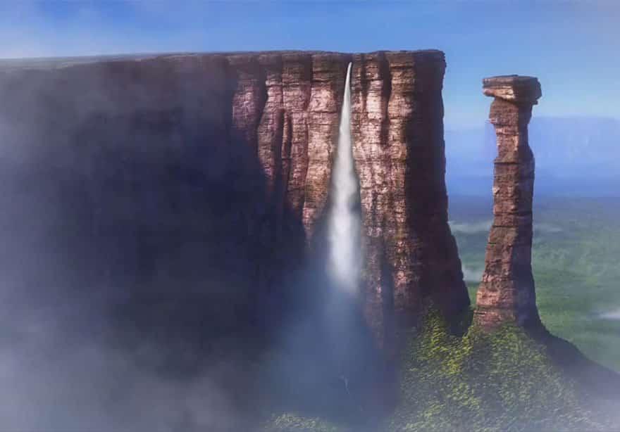 Кадр из диснеевского мультфильма