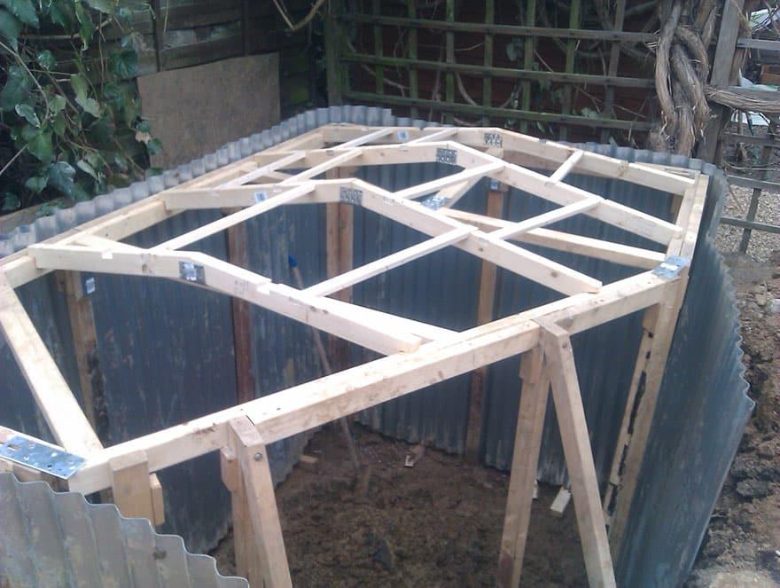 Как построить дом для хоббита