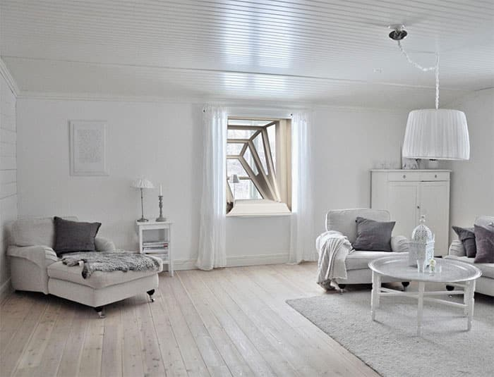 Оригинальное решение для маленьких квартир