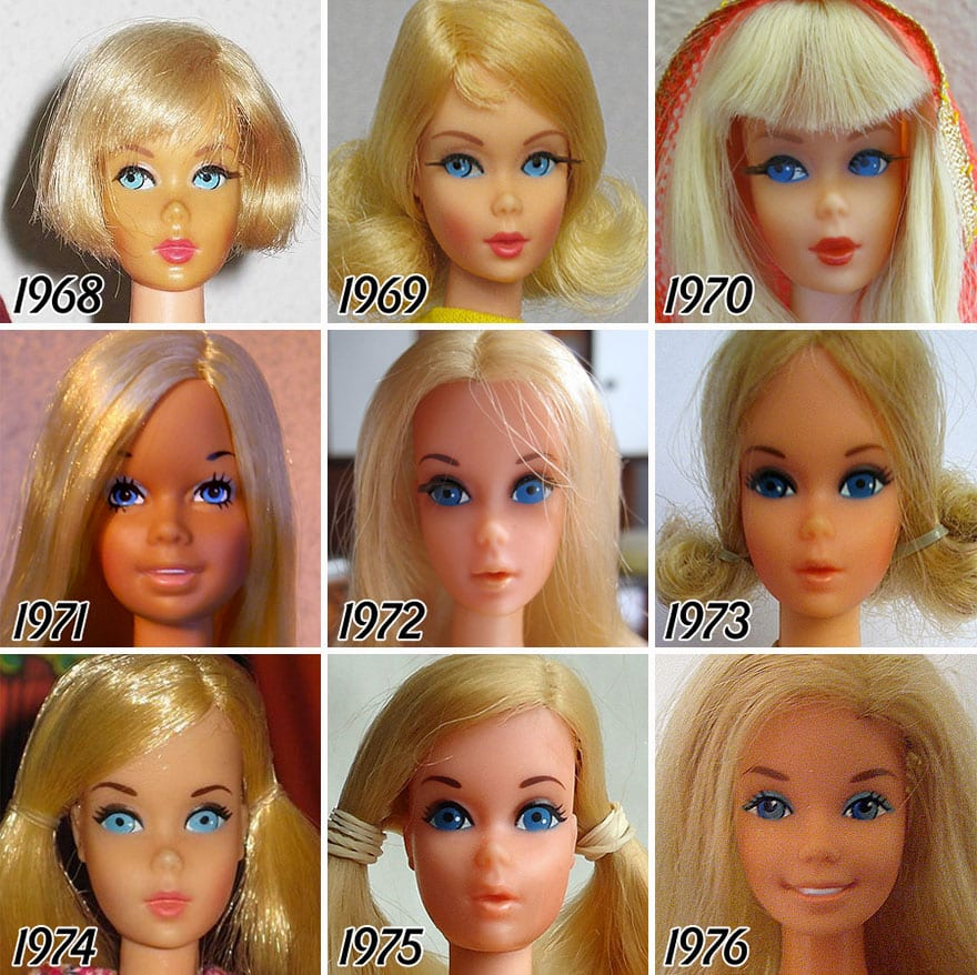 Эволюция кукол