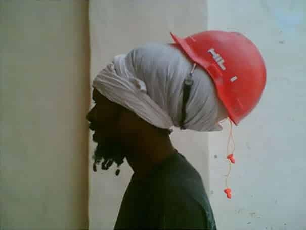 Шлем для идиота