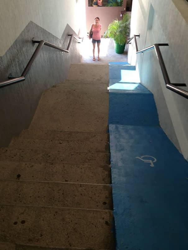 Лестница для инвалидов