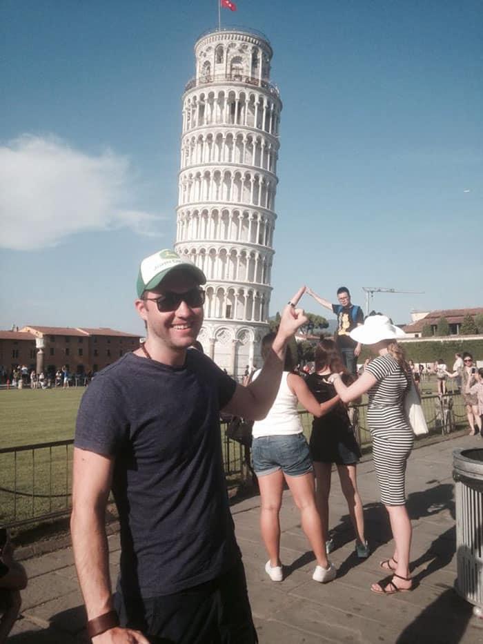 Троллинг Пизанской башни