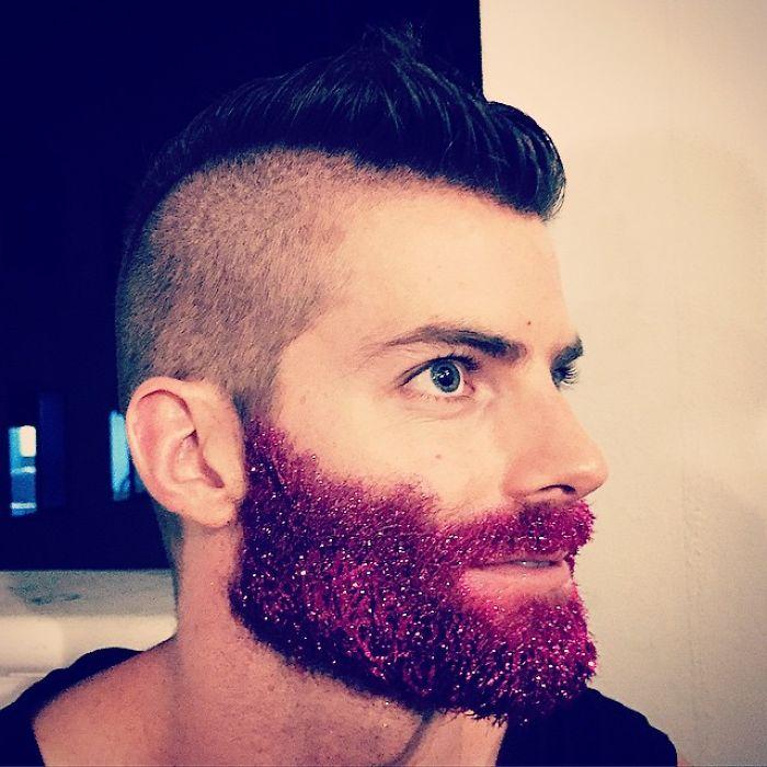 Красивая мужская борода