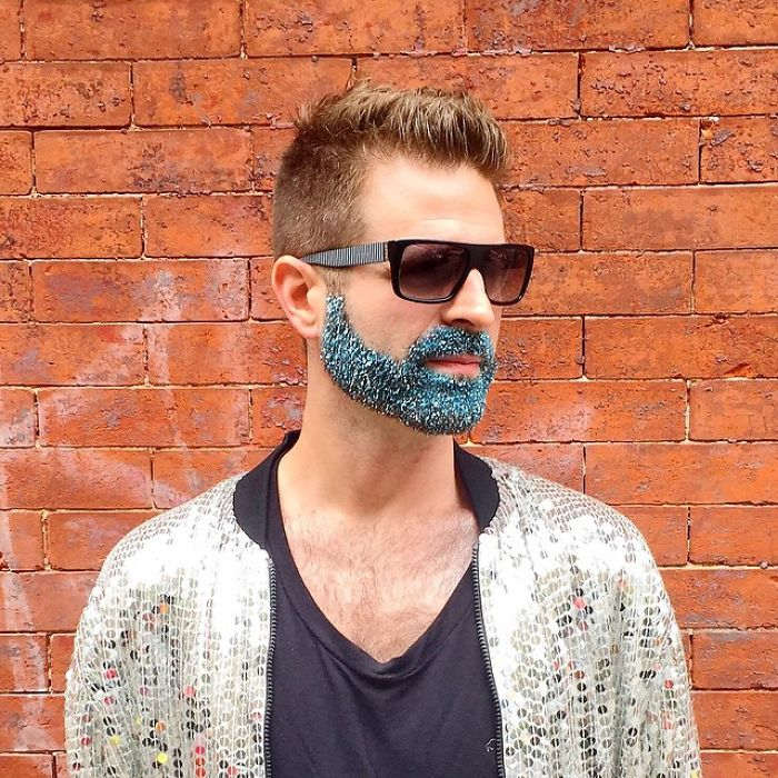 Мужская борода в будни