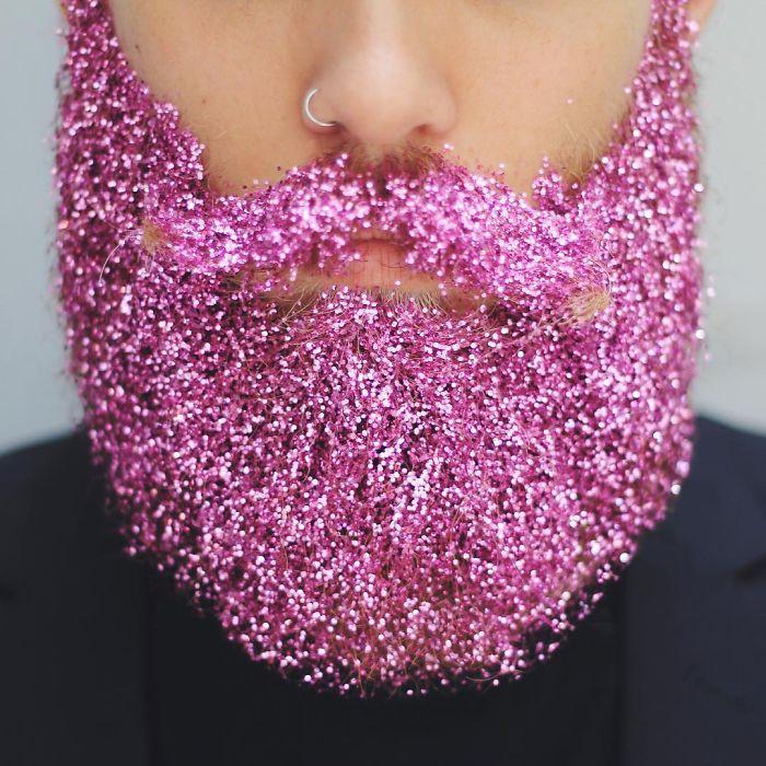 Праздничная мужская борода