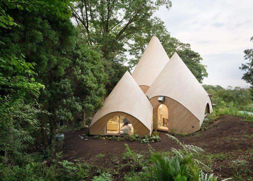 Уютный домик в Японии