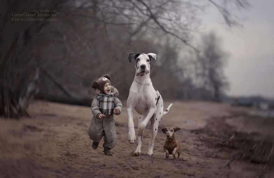 Друзья на прогулке
