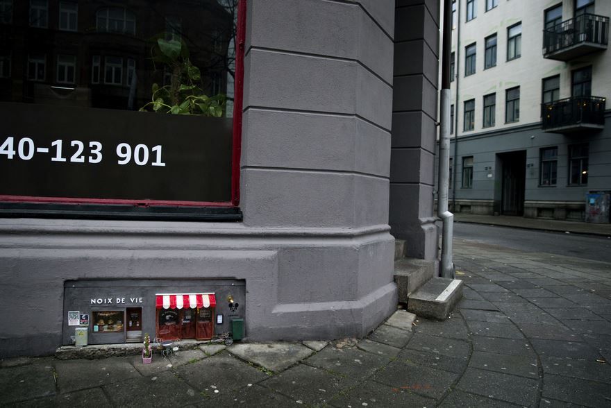 Специальный магазин для грызунов в Швеции