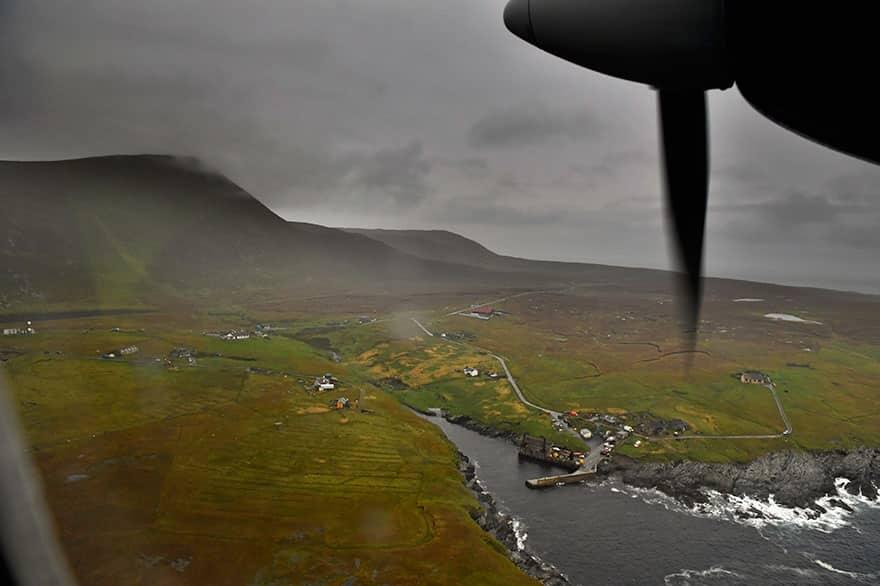 Пейзаж Шетландского острова