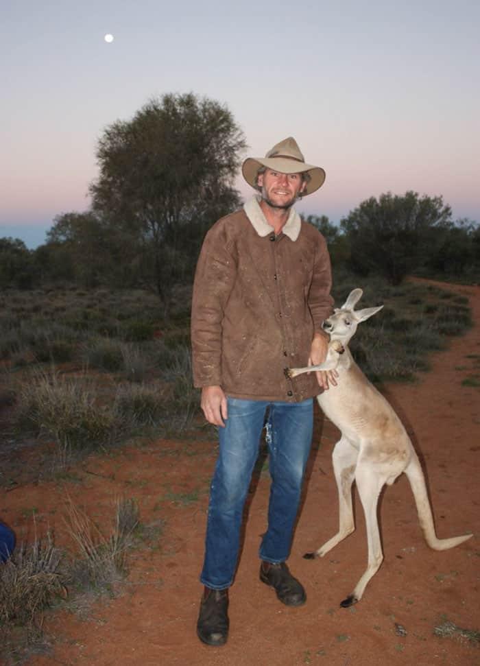 Сотрудник заповедник в Австралии