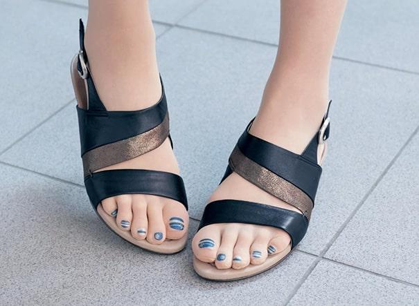 Аккуратные ухоженные ноги