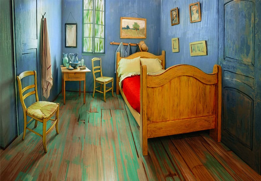Спальня на Юге Франции