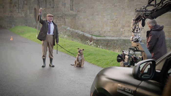Энтони Хопкинс с собакой