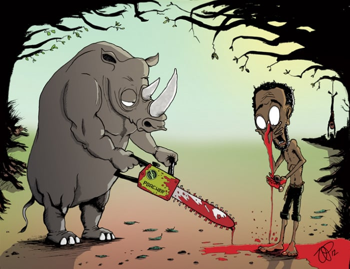 Носорог - мясник