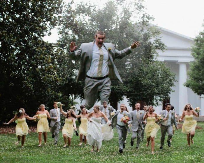 Сногсшибательная свадебная фотография