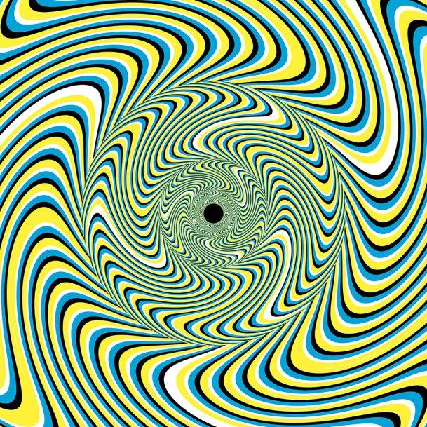 Изогнутые линии и цвета обманывают мозг