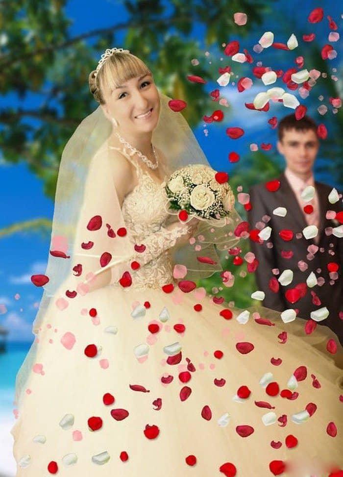 Сногсшибательная свадебная фотография-10