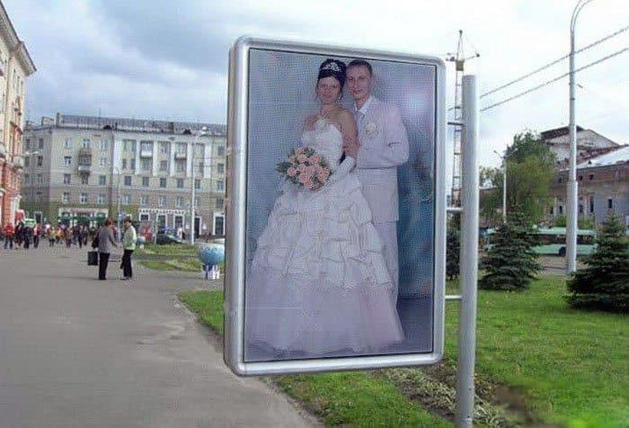 Сногсшибательная свадебная фотография-11
