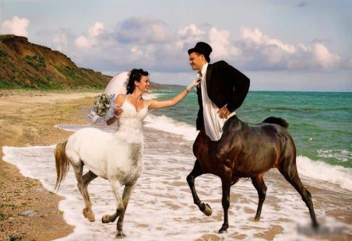 Сногсшибательная свадебная фотография-14