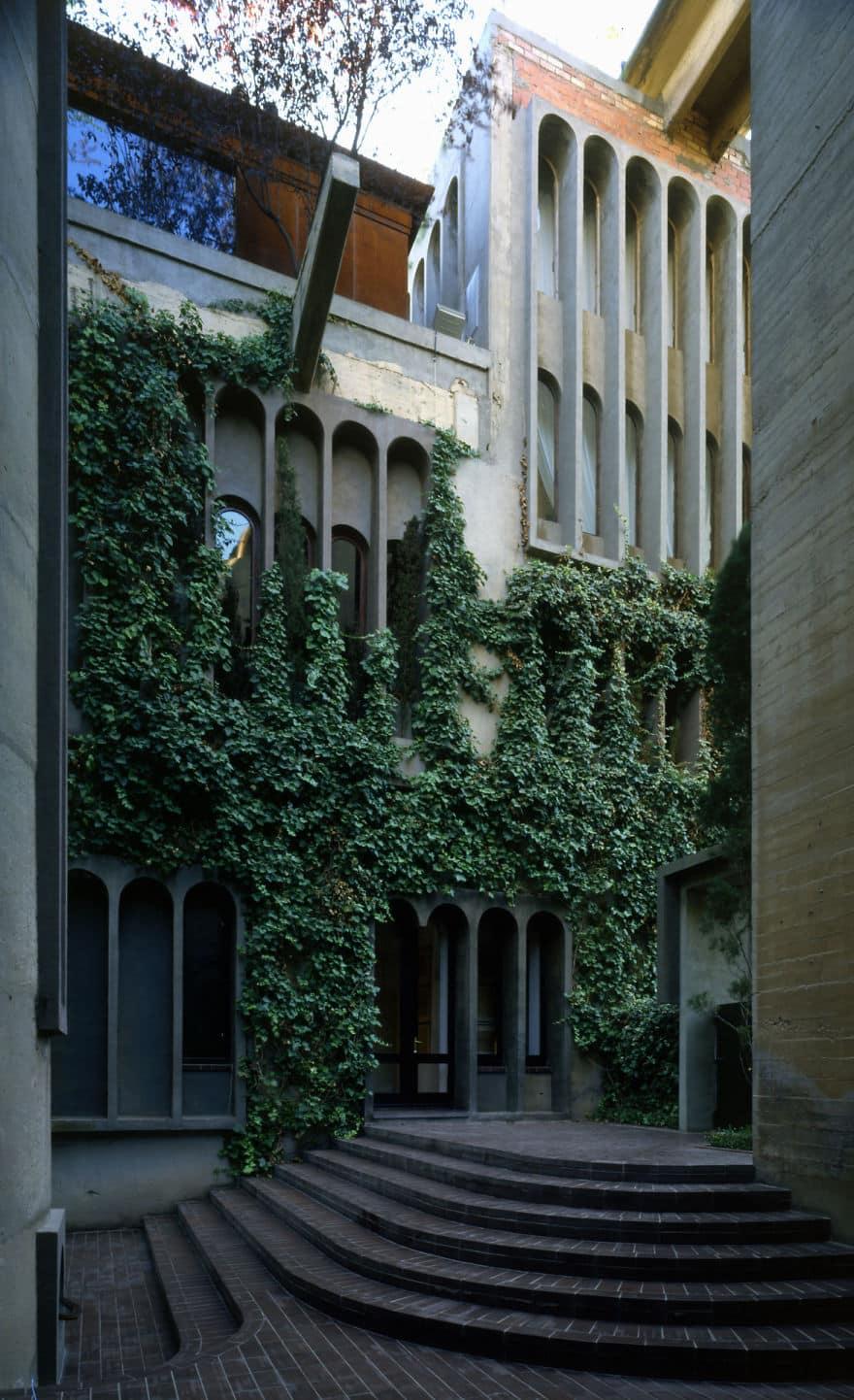 Растительный дизайн фасада