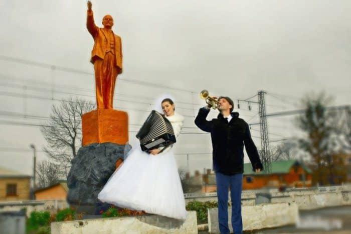 Сногсшибательная свадебная фотография-17