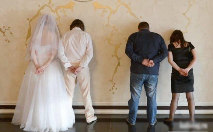 Сногсшибательная свадебная фотография-18