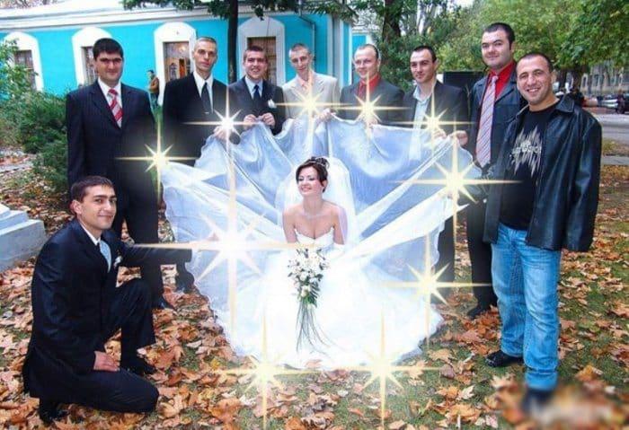 Сногсшибательная свадебная фотография-19