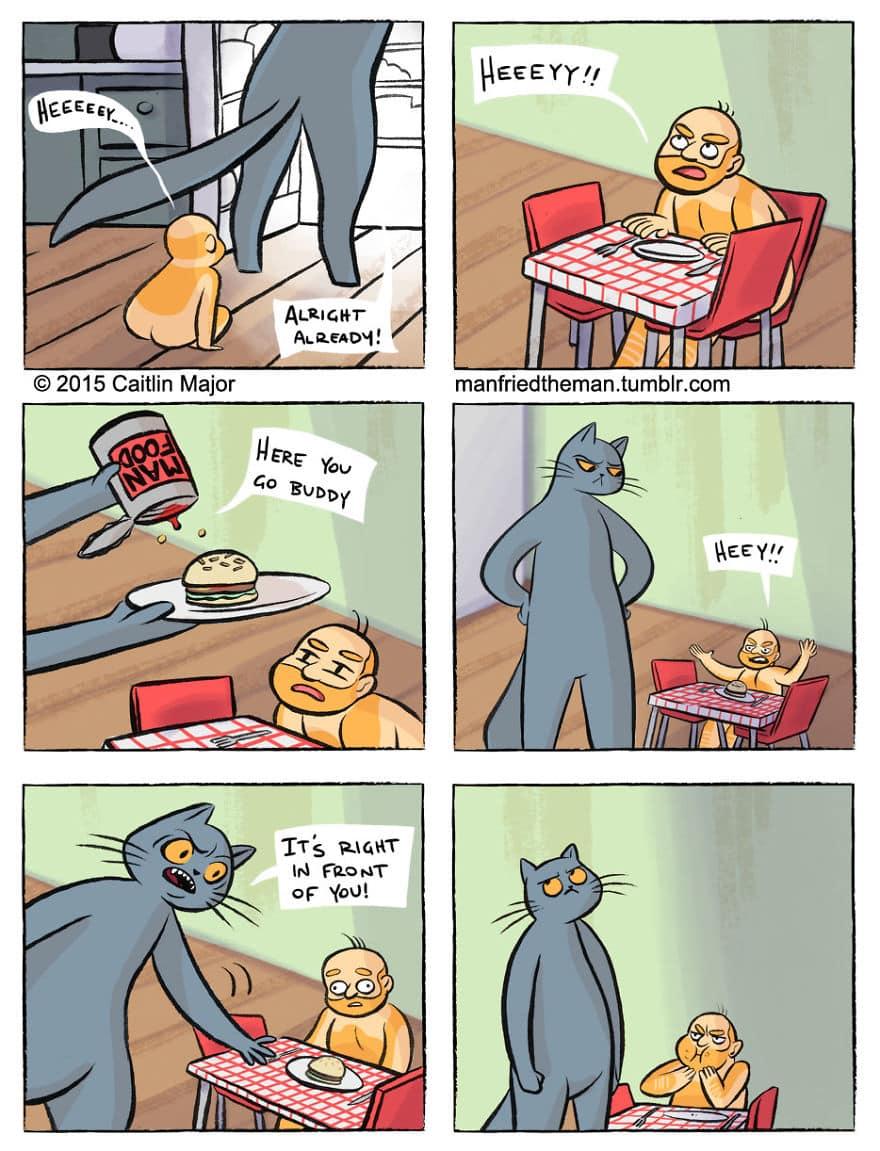 Комикс люди и кошки 2