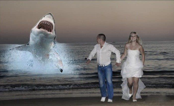 Сногсшибательная свадебная фотография-1